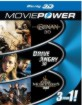 Conan (2011) 3D / Drive Angry 3D / The Three Musketeers (2011) 3D - Moviepower Box 2 (NL Import ohne dt. Ton) Blu-ray