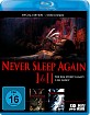 Never Sleep Again 1&2 (Doppelset) Blu-ray