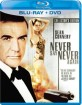 James Bond 007 - Never say never again (Blu-ray + DVD) (Region A - US Import ohne dt. Ton) Blu-ray