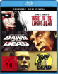 Night of the Living Dead + Dawn of the Dead + Day of the Dead (Zombie 3er Pack) Blu-ray