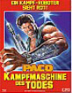 Paco - Kampfmaschine des Todes - Limited Edition Mediabook (Cover A) (AT Import) Blu-ray