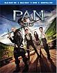 Pan (2015) 3D (Blu-ray 3D + Blu-ray + DVD + UV Copy) (US Import ohne dt. Ton) Blu-ray