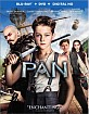 Pan (2015) (Blu-ray + DVD + UV Copy) (US Import ohne dt. Ton) Blu-ray