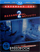 Paranormal Activity 2 - Steelbook Blu-ray