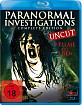 Paranormal Investigations - Complete Edition Blu-ray