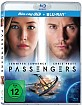 Passengers (2016) 3D (Blu-ray 3D + Blu-ray + UV Copy) Blu-ray