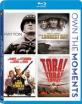 Patton + The Longest Day + The Sand Pebbles + Tora! Tora! Tora! (Own the Moments Collection) (Region A - US Import ohne dt. Ton) Blu-ray