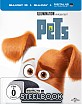 Pets (2016) 3D (Limited Steelbook Edition) (Blu-ray 3D + Blu-ray + UV Copy)