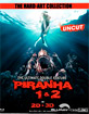 Piranha 1 & 2 3D - Limited Edition im Media Book (The Hard-Art Collection) (Cover B) (Blu-ray 3D) Blu-ray