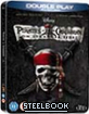 Pirates of the Caribbean 4: On Stranger Tides - Steelbook (Double Play Edition) (UK Import ohne dt. Ton)