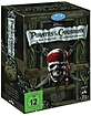 Pirates of the Caribbean - Die Piraten-Quadrilogie (Neuauflage) Blu-ray