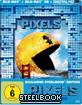 Pixels (2015) 3D - Limited Lenticular Steelbook Edition (Blu-ray 3D + Blu-ray + UV Copy)