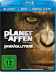 Planet der Affen: Prevolution (Blu-ray + DVD + Digital Copy Edition)