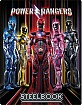 Power Rangers (2017) - Target Exclusive Steelbook (Blu-ray + DVD + UV Copy) (Region A - US Import ohne dt. Ton) Blu-ray