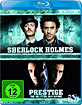 Prestige - Die Meister der Magie & Sherlock Holmes (Doppelset) Blu-ray
