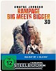Rampage: Big Meets Bigger 3D (Limited Steelbook Edition) (Blu-ray 3D + Blu-ray) Blu-ray
