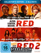 RED 1+2 - Collector's Edition Steelbook (Doppelset)