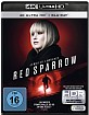 Red Sparrow (2018) 4K (4K UHD + Blu-ray) Blu-ray