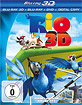 Rio (2011) 3D (Blu-ray 3D + Blu-ray + DVD + Digital Copy)