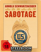 Sabotage (2014) - Uncut (Limited Gold Edition Steelbook) Blu-ray