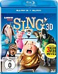 Sing (2016) 3D (Blu-ray 3D + Blu-ray + UV Copy) Blu-ray