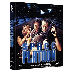 Space Platoon Leprechaun 4 In Space Limited Mediabook Edition