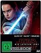 Star Wars: Die letzten Jedi 3D (Limited Steelbook Edition) (Blu-ray 3D + Blu-ray + Bonus Blu-ray)