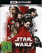 Star Wars: Die letzten Jedi 4K (4K UHD + Blu-ray + Bonus Blu-ray) (CH Import) Blu-ray