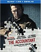 The Accountant (2016) (Blu-ray + DVD + UV Copy) (US Import ohne dt. Ton) Blu-ray