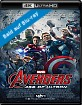 The Avengers 2: Age of Ultron (2015) 4K (4K UHD + Blu-ray) (CH Import)