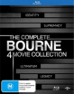 Bourne: The Complete 4 Movie Collection (AU Import) Blu-ray