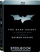 The Dark Knight / Batman Begins - Double Feature (Steelbook) (FR Import)