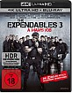 The Expendables 3 - A Man's Job (Ungeschnittene Kinofassung) 4K (4K UHD + Blu-ray) Blu-ray