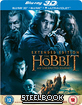 The Hobbit: An Unexpected Journey 3D - Ext. Edition - Steelbook (Blu-ray 3D + Blu-ray + UV Copy) (UK Import ohne dt. Ton)