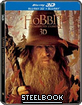 The Hobbit: An Unexpected Journey 3D - Steelbook (Limited Edition) (Blu-ray 3D + Blu-ray + Artbook) (SG Import ohne dt. Ton)