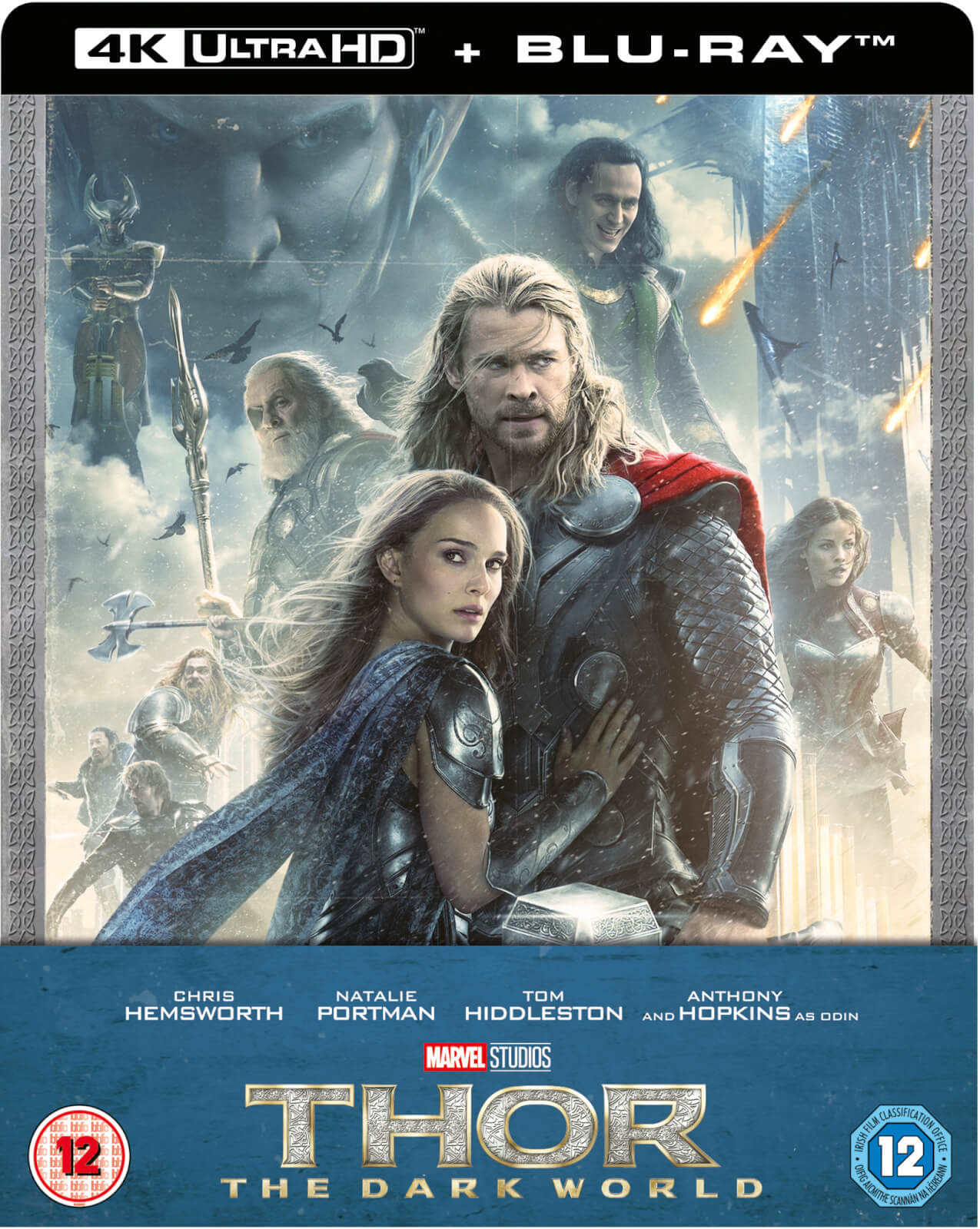 Thor: The Dark World 4K - Zavvi Exclusive Limited Edition Steelbook (4K UHD + Blu-ray) (UK Import)