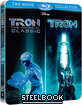 Tron: Legacy & Tron - The Original Classic - Double Pack (Steelbook) (FI Import) Blu-ray