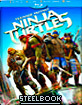 Teenage Mutant Ninja Turtles (2014) 3D - Limited Edition Steelbook (Blu-ray 3D + Blu-ray + Bonus Blu-ray + DVD) (FR Import) Blu-ray