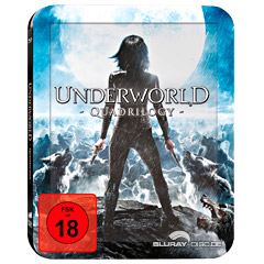 ad9778803 Underworld (1-4) Quadrilogy (Limited Deluxe Edition Steelbook) Blu ...