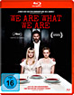 We are what we are (2013) Blu-ray