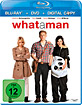 What a Man (Blu-ray + DVD + Digital Copy) Blu-ray
