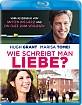 Wie schreibt man Liebe (2014) (CH Import) Blu-ray