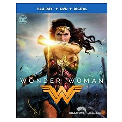 Wonder Woman 2017 Blu Ray Dvd Uv Copy Us Import Ohne Dt