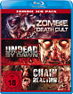 Zombie Death Cult + Undead by Dawn + Chain Reaction (Zombie 3er Pack) Blu-ray