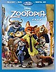 Zootopia (2016) (Blu-ray + DVD + UV Copy) (US Import ohne dt. Ton)