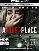 A Quiet Place (2018) 4K (4K UHD + Blu-ray + UV Copy) (US Import) Blu-ray