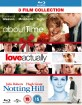 About Time + Love Actually + Notting Hill - 3 Film Collection (UK Import) Blu-ray