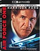 Air Force One (1997) 4K (4K UHD + Blu-ray + Digital Copy) (US Import ohne dt. Ton) Blu-ray