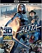 Alita: Battle Angel (2019) 4K (4K UHD + Blu-ray 3D + Blu-ray + Digital Copy) (US Import) Blu-ray