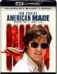 American Made (2017) 4K (4K UHD + Blu-ray + UV Copy) (US Import ohne dt. Ton) Blu-ray